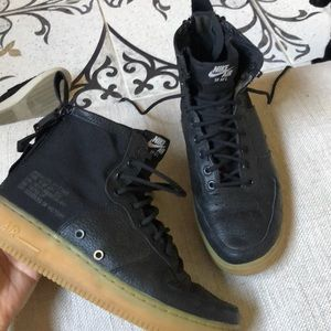 Other - Black NIKE AIR Hightops - SF Airforce 1's